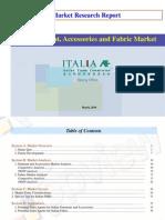 China Garment, Accessoriesand Fabric Market Research-20100323