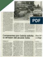 CXG solicita dimisión de Solla