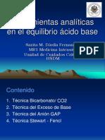Herramientas Analiticas en Equilibrio Acido Base Corregido