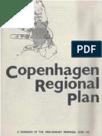 Copenhagen Regional Plan 1947 (Fingerplan) - English summary