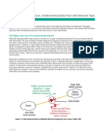 White Paper - Net Optics - Secure Unidirectional Data Flow With Network Taps