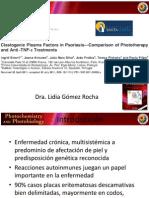Factores clastogénicos en plasma en Psoriasdis.Comparación de tratamientos con fototerapia y Anti-TNF-alfa