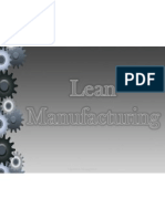 Lean Manufacturing. Modified