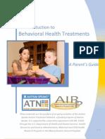 Behavioral Health Treatments a Parent's Guide
