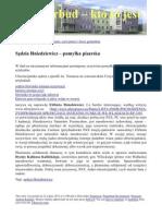 Sedzia Hniedziewicz - pomyłka pisarska