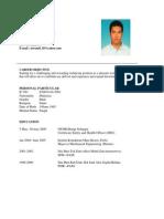 Resume Updates