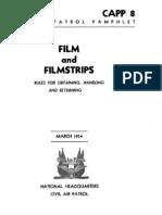 CAPP 8 Films & Filmstrips - 03/01/1954