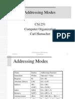 1. Addressing Modes