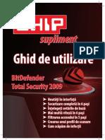 Chip Supliment - Ghid de utilizare Bitdefender Total Security 2009