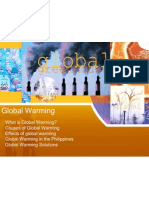 Global Warming Peace Ed