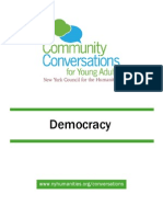Community Conversations for Young Adults Democracy Toolkit