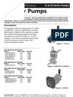 Sj Xj Pump Manual