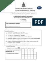 IT5403 2011 Internet Application Development