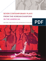 Seven Contemporary Plays from the Korean Diaspora in the Americas edited by Esther Kim Lee