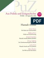 APuZ Hannah Arendt