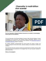 UNIZIK Vice Chancellor in Multimillion naira corruption scandal