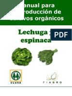 2003. FIAGRO. Manual de Producción de Lechuga y Espinaca Orgánica
