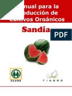 2003. FIAGRO. Manual de Producción de Sandía Orgánica