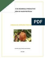 2009. FOMILENIO. Análisis de Mercado para Mamey