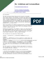 Achidram and Aswamedham Info
