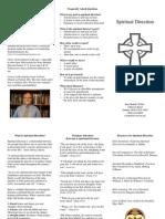 Stan Bohall's Spiritual Direction Brochure