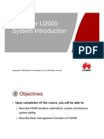 1) U2000 System Introduction.ppt