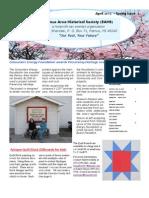 April 2012 RAHS Newsletter