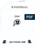 2004 University of Utah Offense