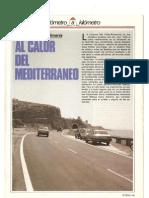 """Revista Tráfico – nº 13 – Julio/Agosto de 1986. Reportaje """"Kilómetro a kilómetro"""