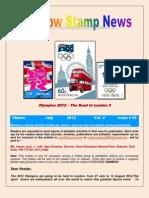 Rainbow Stamp News July 2012