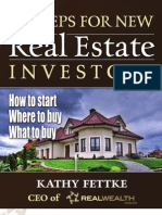 7 Steps for New Real Estate Investors