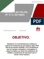 Trainning Plan Telcel R7 V1 0 20110823