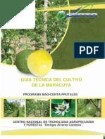 2011. CENTA. Guía Técnica del Cultivo de Maracuya