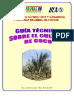 2001. IICA. Guía Técnia del Cultivo de Coco