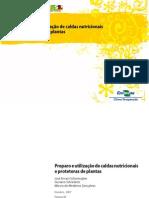Cartilha de Preparo e Uso de Caldas Alternativas em Controle Fitopatógenos