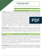 1er Informe 2011