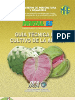 2004. IICA. Guía Técnica del Cultivo de Anona