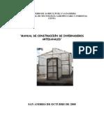 2008. CENTA. Manual de Constucción de Invernaderos Artesanales