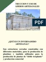 2010. El Salvador. Construccion y Uso de Invernaderos Artesanales