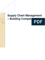 Suply Chain Management - Building Competencies