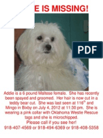 Addie Poster New