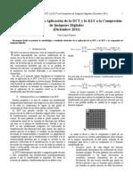 Comparación entre la Aplicación de la DCT y la KLT a la Compresión de Imágenes Digitales