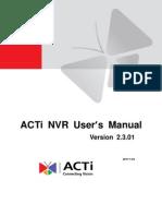 NVR 2.3 User Manual