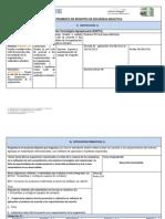 Instrumento de Registro de Secuencia Didactica 1