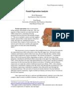 Scholarpedia Facial Expression Analysis