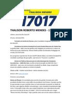 Conheça Thalison Mendes