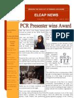 ELCAP E-newsletter Issue 20 - July 2012