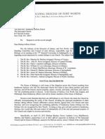 Ohl-Buchanan Letter