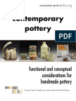 Contemporary Pottery