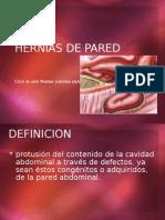 Hernias de Pared